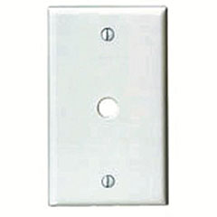 WALLPLATE 1-GANG PHONE/CABLE