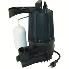 ZOELLER  AUTOMATIC SUBMERSIBLE SUMP PUMP 1/3 HP