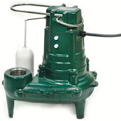 1/2 HP SEWAGE EJECTOR NONCLO