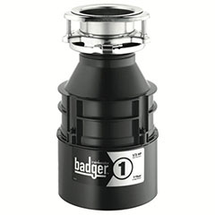 BADGER 1 1/3 HP DISPOSAL WIT