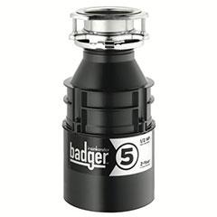 BADGER 5 1/2 HP DISPOSAL WIT