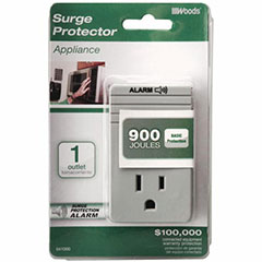 1 OUTLET PLUG IN SURGE