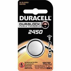 1EA DURACELL BATT DL2450 SEC