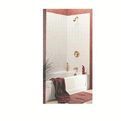 WINDSOR 3 PIECE BATHTUB WALL