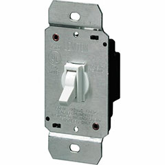 DIMMER TOGGLE 600W 3W WHT