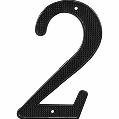 "BLACK NUMBER ""2"" 4"" 2PK"
