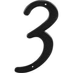 "BLACK NUMBER ""3"" 4"" 2PK"