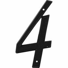 "BLACK NUMBER ""4"" 4"" 2PK"