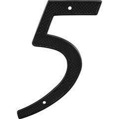 "BLACK NUMBER ""5"" 4"" 2PK"