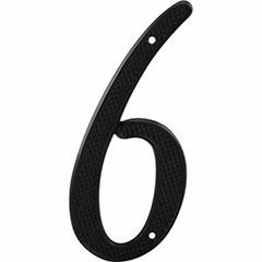 "BLACK NUMBER ""6"" 4"" 2PK"