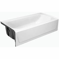 MAUICAST BATHTUB LH 5' WHITE