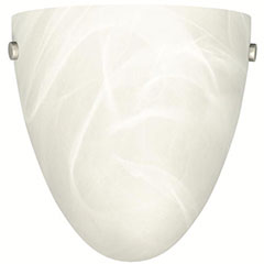 """WALL SCONCE 8"""" ALABASTER"""