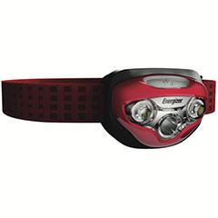 HEADLAMP VISION HD LED RED