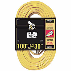 100FT YELLOW JACKET EXT CORD