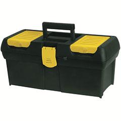 "PLASTIC LATCH TOOL BOX  16"""