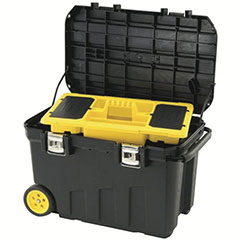 MOBILE TOOL CHEST 24 GALLON