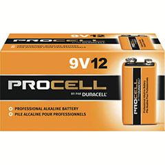 DURACELL P-CELL BATT 9V 12PK