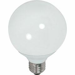 15W CFL G25 MED 27K 1EA