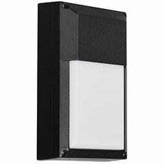 WALLPACK LED 9W 8.5 BLK