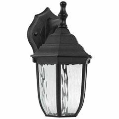 WALLSCONCE LED 6W 10-7/8 BLK