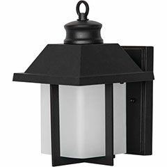 WALL FIXT LED EXT 9W BLACK