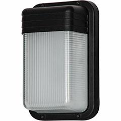 WALL PACK LED 9W 6.25 BLACK