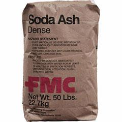 SODA ASH SODIUM CARBNAT 50LB