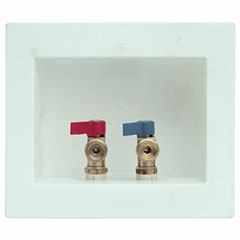 DU-ALL WASHER OUTLET BOX WIT