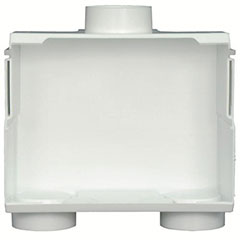 DU-ALL DUAL DRAIN WASHER OUTLET BOX LESS VALVE
