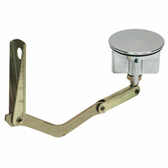 TUB DRAIN POP-UP STOPPER FOR