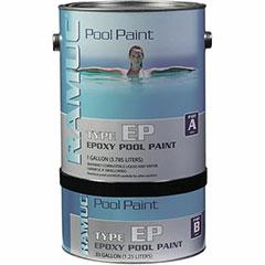 RAMUC EPOXY POOL PAINT DAWN BLUE 1 GALLON