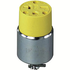 CONNECTOR 6-20R 2P 3W YELLOW