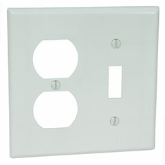 WALL PLATE COMBO TOGGLE AND