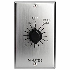 TIME SWITCH IN WALL SPRING W