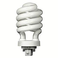 13W CFL SPIRL G24Q-1 27K 1EA