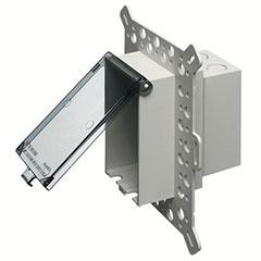 ELEC BOX INBOX NEW STUCO CLR