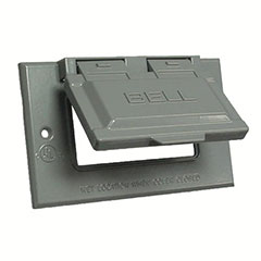 HUBBELL WEATHERPROOF COVER S