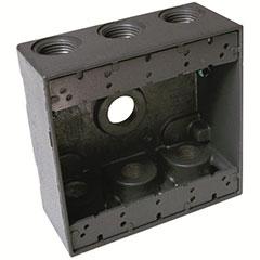 HUBBELL WEATHERPROOF BOX DOU