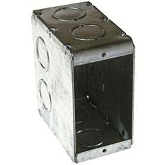 HUBBELL MASON BOX SINGLE GAN