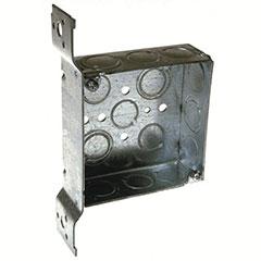 """HUBBELL SQUARE BOX 4"""" FM BRA"""