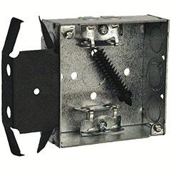 """HUBBELL SQUARE BOX 4"""" BOX-LO"""