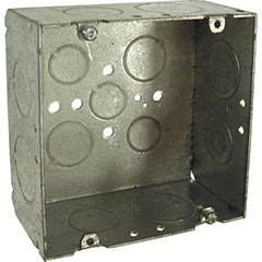 """HUBBELL SQUARE BOX 4-11/16"""","""