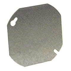 """OCTAGON COVER 4"""" FLAT BLANK"""