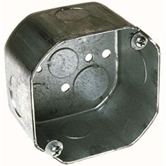 """HUBBELL OCTAGON BOX 4"""", 5 1/"""