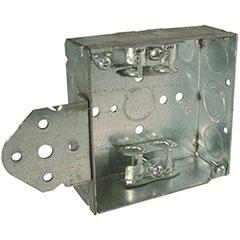 "HUBBELL SQUARE BOX 4"" B BRAC"