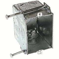 HUBBELL SWITCH BOX NON-GANGA