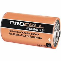 1EA DURACELL P-CELL BATT C
