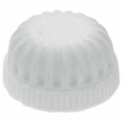 VANITY LIGHT CAP 3/4IN WHITE