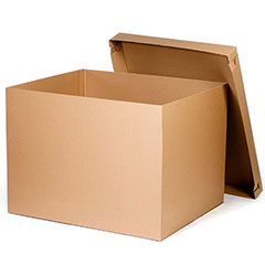 "48 x 40 x 36"" HSC Bottom  200# / 32 ECT Bulk Cargo Container"
