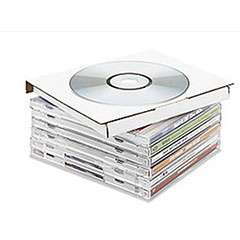 Corrugated CD & DVD Mailers